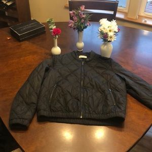 Like New American Vintage black bomber jacket